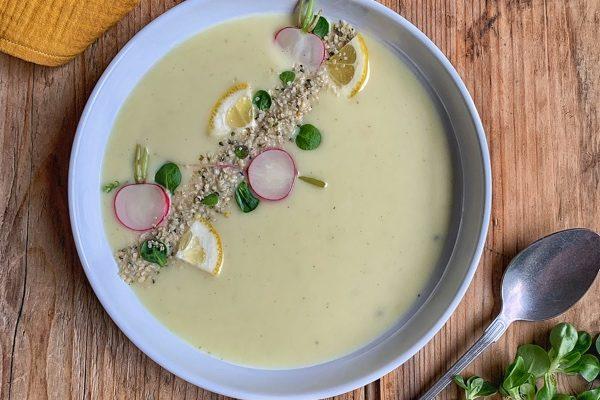 Karfiolová krémová polievka