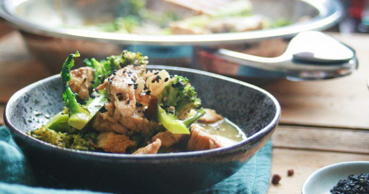 Kuracie na brokolici