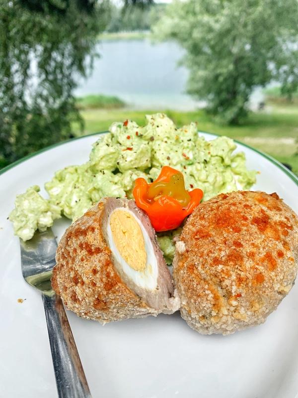 Avokádovo-karfiolový šalát