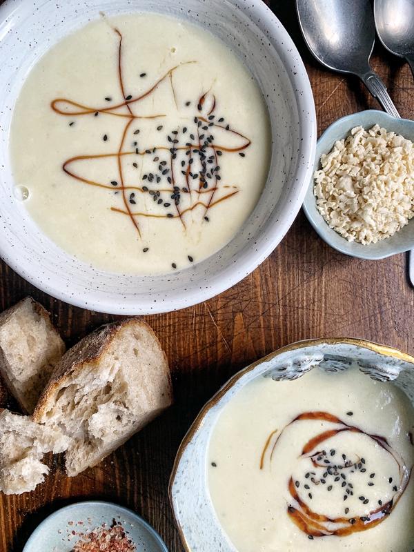 Bryndzová krémová polievka