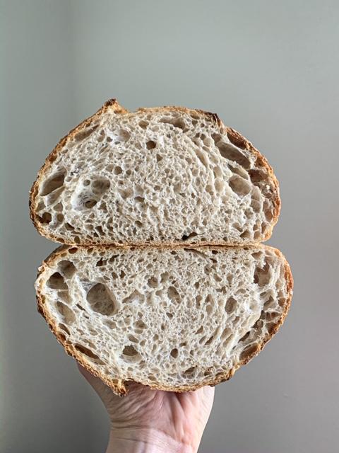 Anjelsky dobrý kváskový chlieb